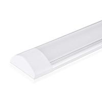 accesorios de iluminación usados al por mayor-tubo del LED caliente iluminación interior luz del tubo Batten LED para el supermercado oficina en casa usando 2 accesorio de purificación pies 3 pies 4 pies LED
