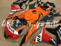 Wholesale body kits free for sale - Group buy 3 Free gifts New ABS motorcycle bike Fairings Kits Fit For HONDA CBR600RR F5 CBR600RR F5 body set custom Fairing red orange