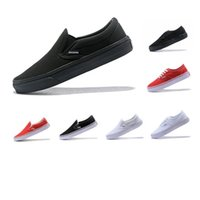 Wholesale lazy canvas shoes for sale - Group buy Couple lazy set casual shoes evergreen clasic Black warrior for men and women