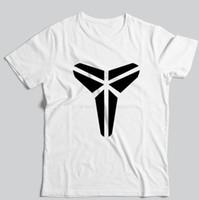 camisa preta fina t mans venda por atacado-Hot high-end Kobe preto Mamba basquete dos homens de manga curta de algodão fino em torno do pescoço T-shirt de Verão 24 camisa dos homens de esportes