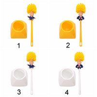 Wholesale type toilet brush resale online - Trump Toilet Brush Make Your Toilets Great Again Shower Room Tile Handle Brush Plastic Creative Handle Brush Toilet Cleaning Tool BH1935 WCY