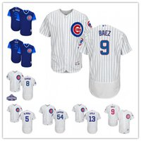 jerseys de mujer al por mayor-Custom Cubs Men's Women's Youth 5 Almora Jr 54 Chapman camisetas de béisbol Barato al por mayor