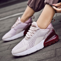 спортивная обувь дышащая подошва оптовых- New Running Shoes for Men Jogging Sneakers for Women Air Sole Breathable Mesh Lace-up Outdoor Training Fitness Sport Shoes