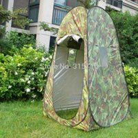 Wholesale outdoor toilets for sale - Group buy Changing Room Privacy Shower Toilet Bath Automatic Up Camouflage UV Beach Fishing Outdoor Dressing Photography Camping Tent