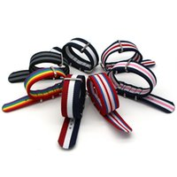 тканевые наручные часы оптовых-18 20 22 24 mm  Causal Army Sport Nato fabric Nylon watchband accessories Bands Buckle belt Canvas For Men Watch Strap