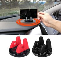 Wholesale phone support auto resale online - Car Phone Holder Stands Rotatable Support Anti Slip Mobile Degree Mount Dashboard GPS Navigation Universal Auto Accessories POE