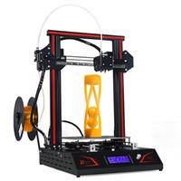 Wholesale big printers for sale - Group buy DMSCREATE DP5 D printer DIY kit big printing size Auto leveling Full Metal Frame High Precision