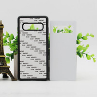 Wholesale white fitted sheets resale online - for Samsung Galaxy S10 S10 PLUS s10 lite Rubber TPU DIY sublimation case with aluminium metal sheet Glue P