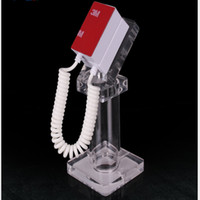 Wholesale security displays for cell phones for sale - Group buy High Quality New Arrival Cell Phone Station Can Customized Your Own Design Desktop Acrylic Anti Theft Security Display Stand For Cell Phone