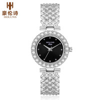 reloj de cuarzo inoxidable diamante al por mayor-2019 HOLUNS marca de lujo para mujer relojes de diamantes Japón cuarzo 5 atm reloj impermeable para mujer de acero inoxidable moda reloj mujer BRW