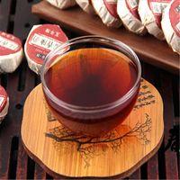 ingrosso tè di mini yunnan-Preferenza 500g Yunnan Riso glutinoso Gusto Mini Puer Tea Cake Raw Puer Tea Organic Natural Pu'er Più vecchio albero Green Puer Tea