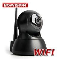wifi ip camera оптовых-720P беспроводной IP WIFI камеры беспроводной безопасности PTZ ИК ночного видения аудио записи наблюдения сети Радионяня iCSee