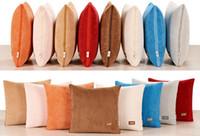 Wholesale car quilts resale online - 1 car seat pillow backrest quilt comfort Lexus cushion Knitting logo