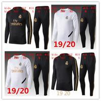 детские спортивные костюмы оптовых-2019 2020 Реал Мадрид Детский футбол TRACKSUIT 19/20 ОПАСНОСТЬ АСЕНСИО ИСКО БОЙС