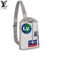 Wholesale pvc drawstring bags resale online - Yangzizhi New Chalk Drawstring Shoulder Bag M44629 Handbags Bags Top Handles Shoulder Bags Totes Evening Cross Body Bag