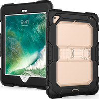 cubierta de protección mini ipad al por mayor-Para Ipad Mini 5 Case 2019 Tres capas a prueba de golpes, de cuerpo completo, resistente PC duro, cubierta de protección de tableta de silicona suave para Ipad Mini 4