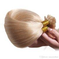 ingrosso prezzo 14 capelli peruviani-Prolunga per unghie Stile dritto Prezzo a buon mercato Brasiliano Indiano peruviano Malese U-tip Remy Capelli umani 14