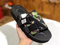 vs sıcak toptan satış-2019 SıCAK KADıN MAN Beyni JAPONYA x Suicoke MOTO-VS MMJ Sandalet Moda pıhtı Sandalet Yaz Terlik Plaj Açık Ayakkabı