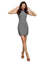 ingrosso vestito da bodycontainer jersey-Abito in jersey aderente da donna ultra oodji