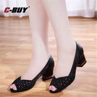 Wholesale casual high boat shoes resale online - Women Shoes Pointed Toe Pumps Dress Shoes High Heels Boat Women
