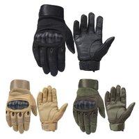 motokros yarış eldivenleri toptan satış-Motosiklet Eldiven Nefes Unisex Tam Parmak Eldiven Moda Açık Yarış Spor Eldiven Motocross Koruyucu Eldiven
