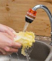 wasserhahnpatronen großhandel-JUXU Haushaltsreiniger Wasserfilter Mini Küchenarmatur Luftreiniger Wasserreiniger Wasserfilter Patrone Filter