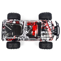 Wholesale big foot toy resale online - Heliway New Rc Car High Speed Suv Rock Rover Double Motors Big Foot Cars Remote Control Radio Controlled Off Road Car Toys