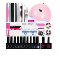 Manicure Set Nail Kit With 24w 36w Led Nails Lamp Nails drill Machine Nail Polish Kit Acrylic Nail Art Tools Set