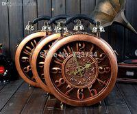 bolsos únicos bolsos al por mayor-Mayor-Amliya forma única uso doble verdadera pared reloj forma de reloj bolsa cuerpo transversal monedero