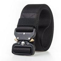 nylon schnellspanner großhandel-Fairwin Tactical Rigger-Gürtel, Nylon-Gurtbundgürtel mit V-Ring-Hochleistungsschnalle