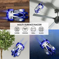 Wholesale race car wall online - RC Wall Climbing Car Remote Control Anti Gravity Ceiling Racing Car Electric Toys Machine Auto RC Car for kid toy gift