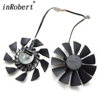 Wholesale asus fans cooling resale online - New mm T129215SU A Cooler Fan Replace For ASUS R9 X X X GTX Ti Graphics Card Cooling Fans