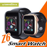 Wholesale video calling phones online – Z6 Kids Smart watch SIM Card Men Bluetooth Phone Watch Audio Video Player Sleep Alarm Women Smartwatch For Android IOS Watches
