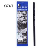 2h lapices al por mayor-Lápices Pintura escritura HB 2B 2H madera Lápiz de madera Plomo Lápiz grafito Para la escuela con suministros de librería 412