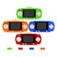 Wholesale pvp video game resale online - M100A Child Classic Video Game Player Portable inch Color PVP Handheld Game Player Built in lithum battery Kid Games Console