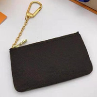Wholesale christmas plaid for sale - Group buy Quality Original Box Date Code Woman coins keys bag wallet purse holder