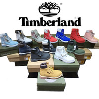 Wholesale waterproof running shoes for sale - Classic Timberland6 Inch Shoes Boots USA Shoes Waterproof Running Sneakers Designer For Women Men Fast Shipping Original Shoe Box