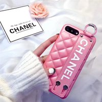 Wholesale luxurious iphone cases for sale – best Luxurious Phone Case for IPhone X XS Wristband PU Leather Phone Back Cover Cases for IPhone plus plus