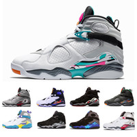 Wholesale chrome shoes for sale - Group buy 2019 South Beach White Aqua Raid Red VII s men Basketball Shoes Valentine s Day Chrome COUNTDOWN PACK mens outdoor Sports Sneakers