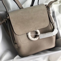 Le più nuove borse di lusso Anello in vera pelle da donna Designer Zaino Tracolla Famoso mini zaino Borse da donna Portafogli Borsa da scuola