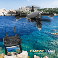 Wholesale abs toy car for sale - Group buy FQ777 FQ40 FPV RC Drone MP MP WiFi HD Camera Altitude Hold Headless Mode D Flip One Key Return Aerial Photography