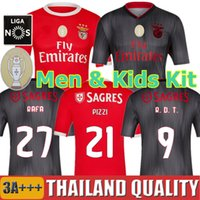 r t s toptan satış-19 20 SL Benfica Futbol Formaları PIZZI RAFA R. D. T. 2019 2020 GABRIEL TAARABT Futbol Forması seti RÚBEN DIAS erkekler çocuk kiti üniformalar