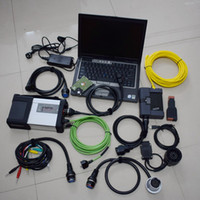 Wholesale bmw laptop resale online - 2019 newest in1 mb star c5 for bmw icom a2 diagnostic with tb hdd with car table laptop D630 gb run fast