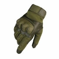 Wholesale spring skiing gloves resale online - Motorcycle Mountaineering Tactical Gloves for Men Cycling Gloves Climbing Ski Full Finger Exercise Sport Gloves LJJZ572