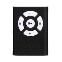 Wholesale best new mp3 player resale online - Best Price Mini Clip Mirror Sport MP3 Player Micro SD TF Card Music Media New