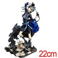 brinquedos de anime preto mordomo venda por atacado-New Black Butler 22 cm Kuroshitsuji Cie Anime Action Figure PVC anime japonês figuras de ação figuras de brinquedo Modelo coleção
