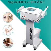 Wholesale hifu for sale - 2 IN HIFU face lifting machine Skin Tightening Painless Hifu Vaginal Tightening Body Slimming Beauty Machine