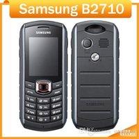 Wholesale smartphones unlock resale online - Refurbished Smartphones Cheap Samsung B2710 Original Unlocked Mobile Phone mAh GPS inch MP Camera G