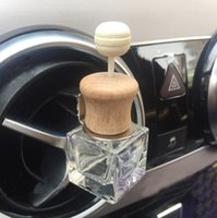Car Perfume Clip For Essential Oils Diffuser Pendant Air Freshener Fragrance Air Vent Outlet Empty Glass Bottle Car-styling Auto Ornament