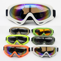 Wholesale goggle sand for sale - Group buy Ski goggles X400 anti UV sports skis skating goggles motorcycles windproof sand riding glasses eye protection equipment